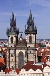 TYN Chapel in Prague Czech Republic Journal