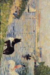 Georges Seurat 1883 Horses in the Water