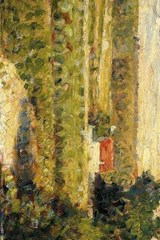 Georges Seurat 1883 House with Red Roof | Unique Journal |