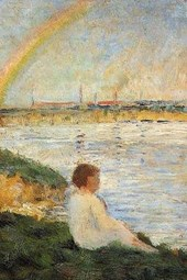 Georges Seurat 1883 Rainbow