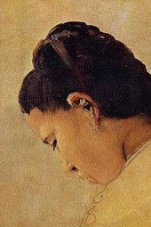 Georges Seurat Head of a Girl