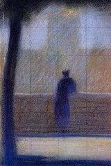 Georges Seurat Man Leaning on a Parapet | Unique Journal |