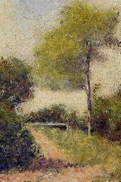 Georges Seurat the Hedge