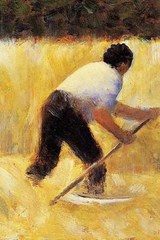 Georges Seurat the Mower | Unique Journal |