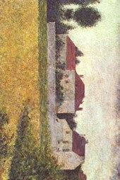 Georges Seurat White Houses Ville D Avray