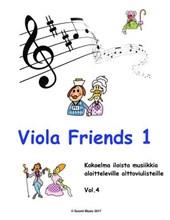 Alttoviuluvihko 1 Viola Friends