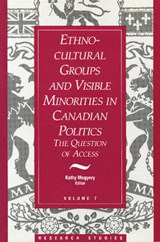 Ethno-Cultural Groups and Visible Minorities in Canadian Politics | auteur onbekend |