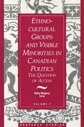 Ethno-Cultural Groups and Visible Minorities in Canadian Politics |  |