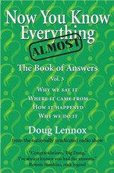 Now You Know Almost Everything | Doug Lennox |
