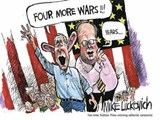 Four More Wars! | Mike Luckovich |