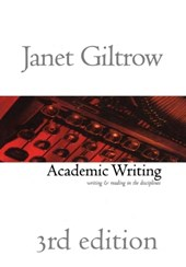 Academic Writing - Third Edition | Janet Giltrow |