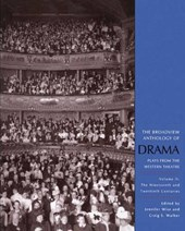The Broadview Anthology of Drama