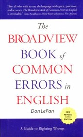 The Broadview Book of Common Errors in English