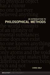 An Introduction to Philosophical Methods | Chris Daly |