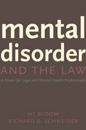 Mental Disorder and the Law