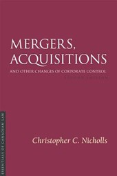 Mergers, Acquisitions and Other Changes of Corporate Control 2/E