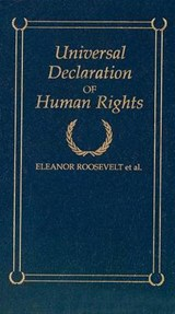 Universal Declaration of Human Rights | Eleanor Roosevelt |