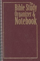 Bible Study Organizer and Notebook