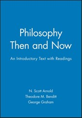 Philosophy Then and Now