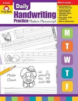 Daily Handwriting Modern Manuscript | Evan-Moor Educational Publishers |