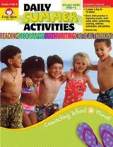 Daily Summer ACT Moving Pre-K to K | Evan-Moor Educational Publishers |