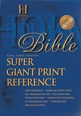 Super Giant Print Reference Bible-KJV | auteur onbekend |