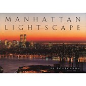 Manhattan Lightscape Postcard Book