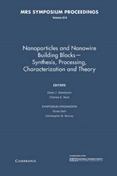 Nanoparticles and Nanowire Building Blocks Synthesis, Processing, Characterization and Theory |  |