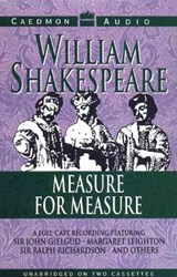 Measure for Measure | William Shakespeare |
