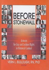 Before Stonewall | Vern L. Bullough |