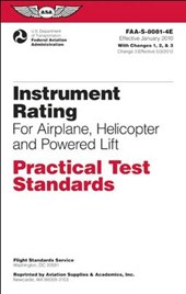 Instrument Rating Practical Test Standards for Airplane, Helicopter and Powered Lift | Av |