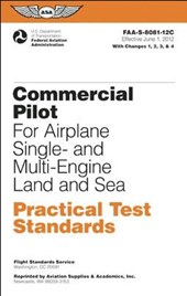 Commercial Pilot Practical Test Standards for Airplane Sel, Mel, Ses, Mes