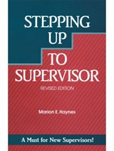 Stepping Up to Supervisor | Marion E. Haynes |