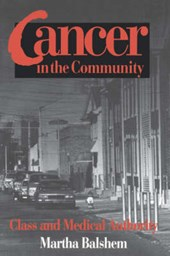 Cancer in the Community | Martha Balshem |
