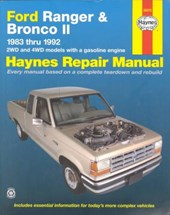 Ford Ranger and Bronco II 1983 Thru