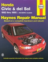 Honda Civic and del Sol, 1992-1995 | John Haynes |