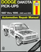 Dodge Dakota Pick-Ups 1987 Thru | John Haynes |