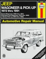Jeep Wagoneer Automotive Repair Manual, 1972-1991 | Storer, Jay ; Haynes, John Harold |