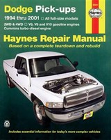 Dodge Full-Size Pickups, 1994-2001 | John Haynes |