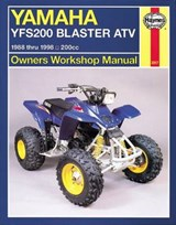 Haynes Yamaha YFS200 Blaster ATV Owners Workshop Manual | Max Haynes |