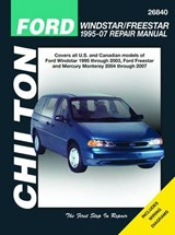 Chilton's Ford Windstar/ Freestar 1995-07 Repair Manual | Storer, Jay ; Kibler, Jeff |