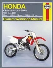 Haynes Honda CR Motocross Bikes 1986 thru