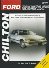 Chilton Ford Crown Victoria 1989 - 10 Repair Manual | Mihalyi, Eric Michael ; Ryan, Mark |