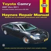 Haynes Toyota Camry 2007 Thru