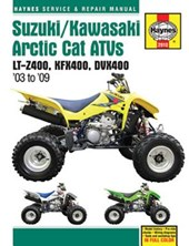 Haynes Suzuki LT-Z400/Kawasaki KFX400/Arctic Cat DVX400 Service and Repair Manual