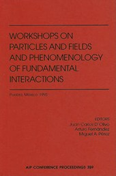 Workshop on Particles and Fields and Phenomenology of Fundamental Interactions |  |