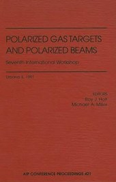 Polarized Gas Targets and Polarized Beams