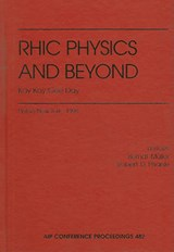 Rhic Physics and Beyond |  |