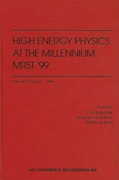 High Energy Physics at the Millennium
