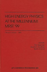 High Energy Physics at the Millennium |  |